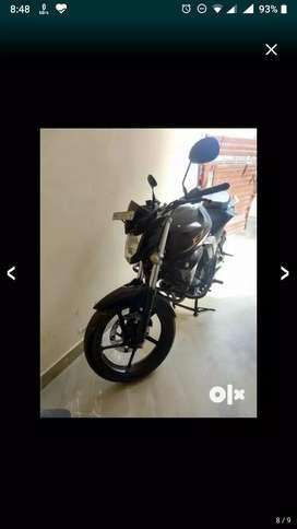 Yamaha FZ Black Bike