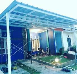 Canopy minimalist bajaringan garasi