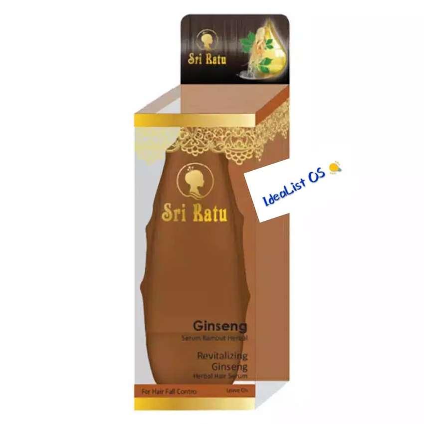 Sri ratu herbal hair serum ginseng 50 ml / serum rambut ginseng 0