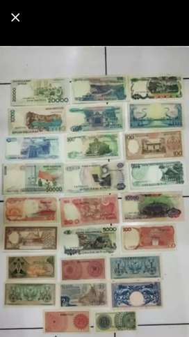 Uang kuno paket hemat