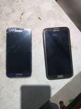 Samsung s 5 & Samsung not 2