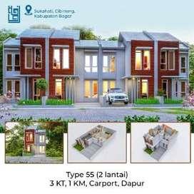 Rumah Siap Huni Exclusive Raudhoh Residence di Sukahati Cibinong Bogor