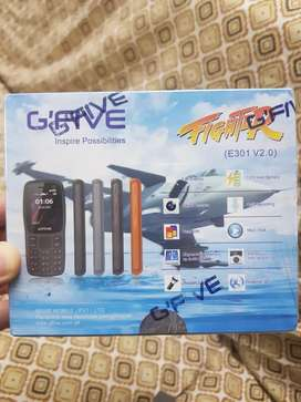 G'Five (Fighter E301 V2.0) Keypad Phone, Feature Phone