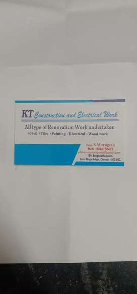 KT construction and electrical work