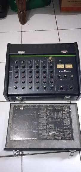 power mixer toa 6 ch japan