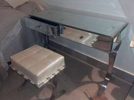 Console with Mirror and Stole