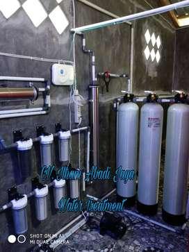 Saringan penjernih air , Sumur bor / PDAM air jamin bersih Bergaransi