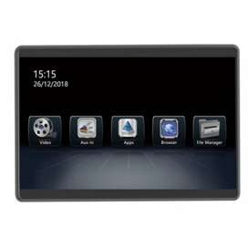 Headrest Android MTech 12.5inch 7080AD MKII Lengkap Include Instalasi