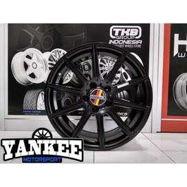 Velg HSR Wheel LUBECK AM1047 R17X8 H5X112 ET45 SMB Golf New, Jetta dll