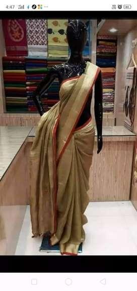 Bhagalpuri handloom silk sarees