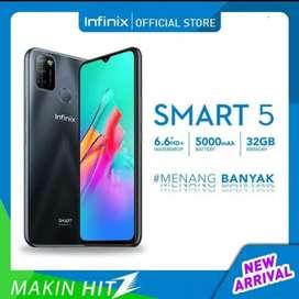 PROMO Infinix Smart 5 2/32 BNIB grs resmi 1th cod Bdg kota Free Ongkir