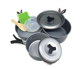 Cooking set  for outdoors and camping teapot