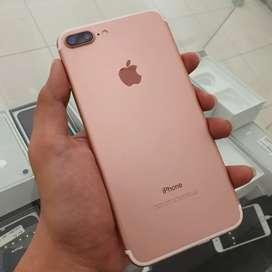 iPhone 7 Plus 32 GB LL/A 511167 Mulus Fullset Rose Gold 7+ 32GB Murah