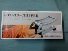 Potato chips cutter in steel body wonderful item for chips & food