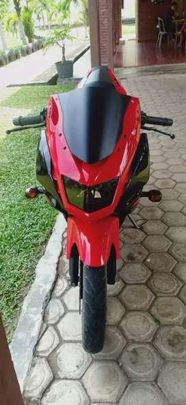 Ninja RR Merah Hitam 2014