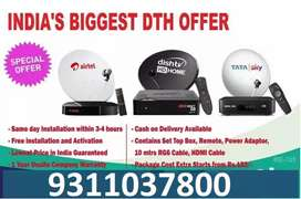 NEW TATA SKY PLUS Airtel CONNECTION WITH INSTALLATION START RS 999