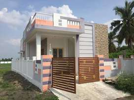 2BHK VILLA JUST 19 LAC ONLY,FIVE MINS FROM ANNUR BUS STAND