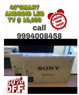 """₩₩-SONY BRAVIA 40"""" SMART ANDROID LED TV SPECIAL DISCOUNT OFFER 10,499"""