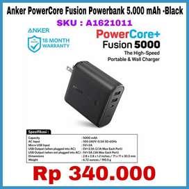 Anker Powercore fusion Powerbank 5.000 mah - black Mantap
