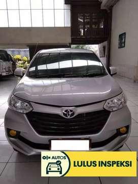 [Lulus Inspeksi] Toyota Grand Avanza E M/T 2016 Silver Metalik