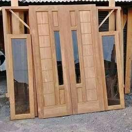 Daun pintu kupu-kupu 1 set/komplit