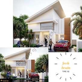 Jual rumah minimalis modern islami lokasi strategis