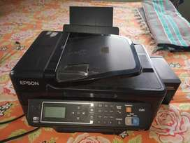 I have a color printer Epson L565 model. Very good condition.