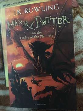 Harry potter series untouched books