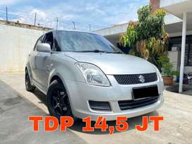 Suzuki Swift Manual 2008 Type ST Silver Metalik Mulus