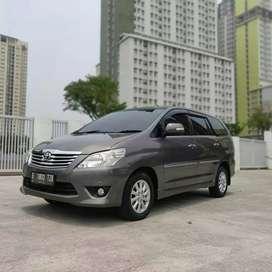 Toyota Kijang Innova V  Luxury Diesel Matic 2012 Istimewa