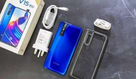 Vivo v15 pro with all accessories in excellent condition