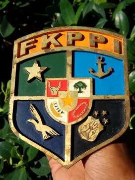 FKPPI, emblem plat nomer..kuningan laser
