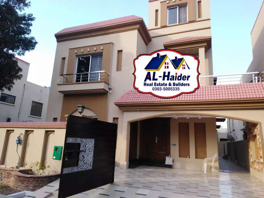 11 Marla Corner House is Available For sale in Jasmine Block Bahria 0