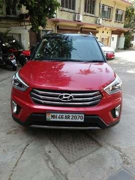 Hyundai Creta 1.6 S plus auto CRDI, 2016, Diesel