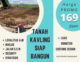 Stok Terbatas! Tanah Asri Murah di perbatasan Kota Bandung