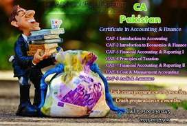 ACCA, CA, ICMA and A level preparation for the weakest students