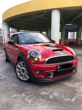 Km 8rb Mini Cooper 1.6 S Coupe ATPM Th 2012/2013 Chili Red Like New!