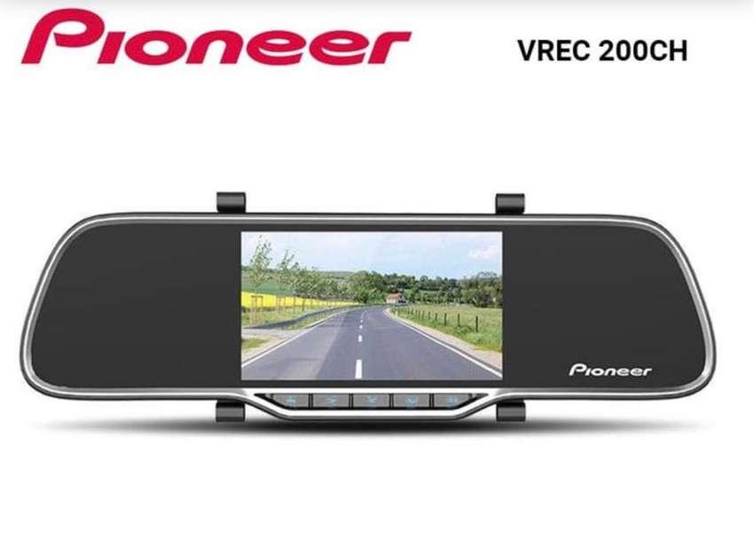 Spion tengah Pioneer kamera spion dash cam pioneer VREC 200CH 0