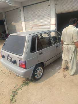 Suzuki mehran vxr  steel gray colour cng petrol start