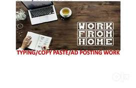 Work on online data entry at home freely