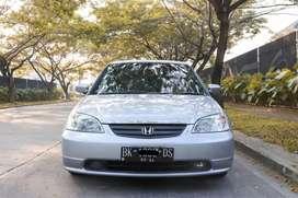 Honda Civic ES VTi 1.7 VTEC M/T thn 2001 Original Siap Pakai KM 120 RB