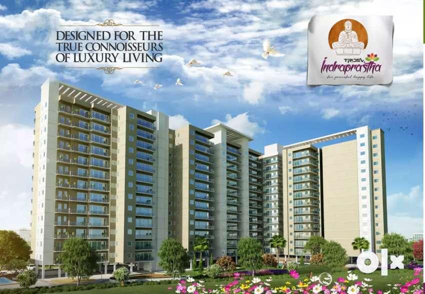 Three bhk flat for sell in tridev residency patiya sundarpur Lanka vns 0