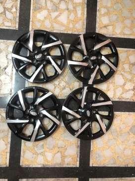 Hyundai dual tone wheel cap