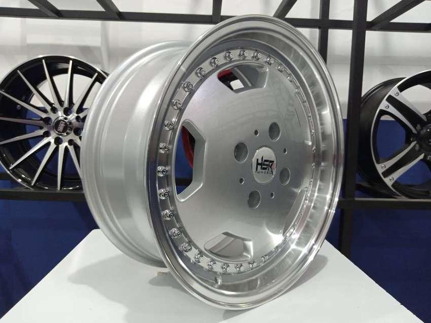 velg hsr wheels GOETHE H1639 HSR R16X7 H4X114,3 ET42 SML