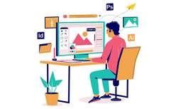 Typist with Graphic Design interest
