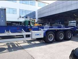 TRAILER 40 Feet, 20 Feet CIMC FLAT BED, SKELETON BED