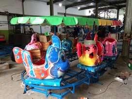odong odong 2 kereta panggung ikan nemo fiber RY