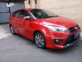 Toyota Yaris Trd sportivo at 2015 tdp 97jt angs 8.487 x 11 bln