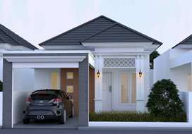Rumah murah cantik cukup 16.5 juta aja