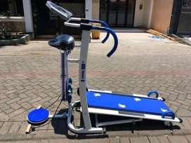 Treadmill Manual 6 in 1 /Fitness Sports // Jumat Gym 17.41